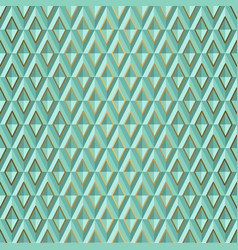seamless green volume 3d background geometric vector image