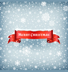 merry christmas celebration background with vector image