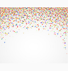 abstract background with many falling colorful vector image