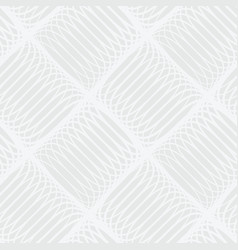 Abstract white and gray seamless pattern of lines vector