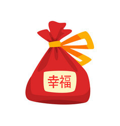 Chinese lucky bag chinese new year decoration vector