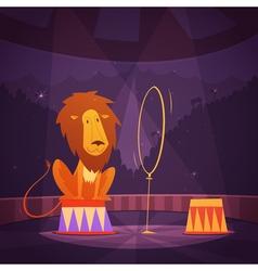 Circus Lion vector
