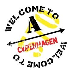 Copenhagen stamp rubber grunge vector