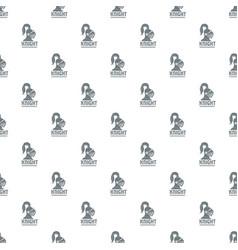 Knight helmet pattern seamless vector