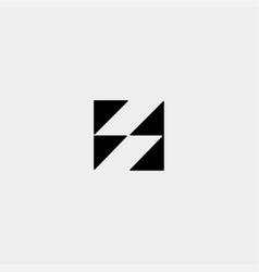 Letter s ss logo design simple vector
