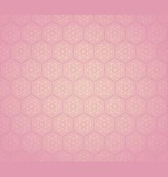 seamless flower ornament vector image