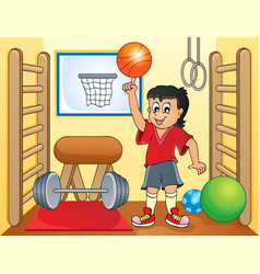 Sport and gym topic image 8 vector