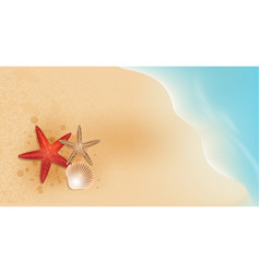 Summer sale and beach holidays elements promotion vector