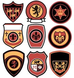 classic emblem badge design vector image