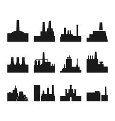 Factory icon2 vector image vector image