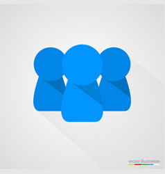 concept of team or group vector image vector image