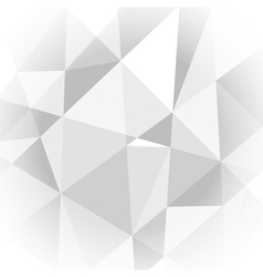 Abstract light grey geometric background vector image