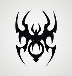 Spider tribal vector