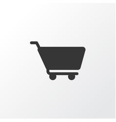 cart icon symbol premium quality isolated vector image