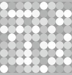 Grey and white dots background or comic pattern vector