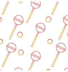 Lolly pop background vector