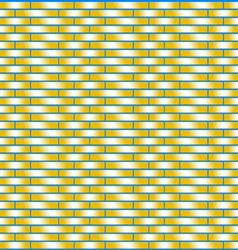 Weave pattern yellow background vector