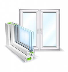 window profile vector image vector image