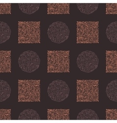 Seamless ornament vintage background vector
