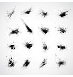 Ink Splat Set vector image