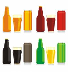 beer brands vector image