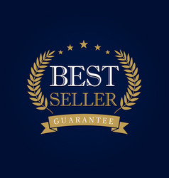 Best seller logo vector