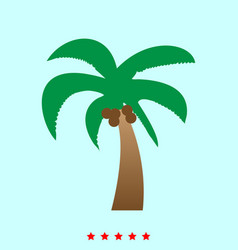 palm it is icon vector image
