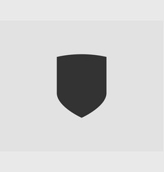 shield icon safe and protect logo vector image