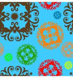 seamless design vector image vector image