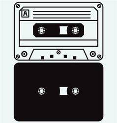 Cassette tape vector image vector image