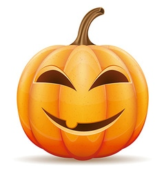 pumpkin 05 vector image vector image