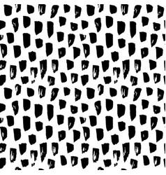 seamless pattern paint brush stroke vector image
