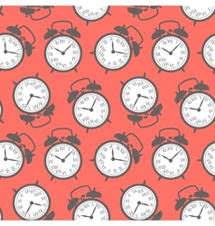 Clock seamless background vector