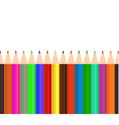 color pencil pencil seamless background crayon vector image