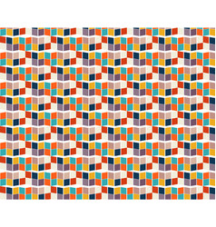 color tile pattern with many colored squares vector image