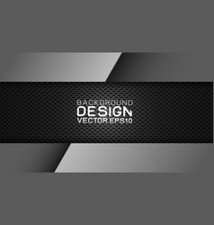 Design trendy and technology background vector