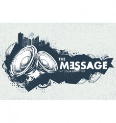 modern sketchy style banner vector image