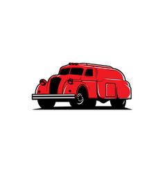 oil truck vector image