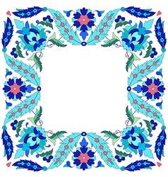 Ottoman motifs design series sixty seven vector