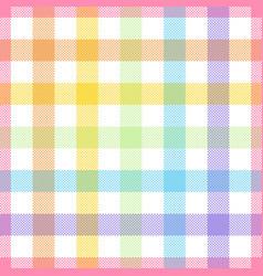 Rainbow lgbt - seamless watercolor pattern vector