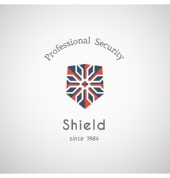 Shield Security Logo vector image
