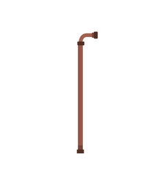walking stick element that used the old people vector image