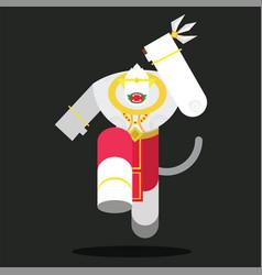 hanumanthai vector image