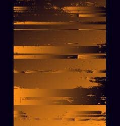 abstract cosmic psychedelic dark blue golden vector image