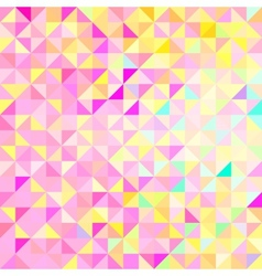 Abstract Geometric Color Background vector image