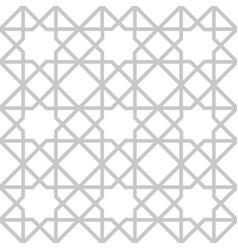 arabian geometric star seamless pattern background vector image