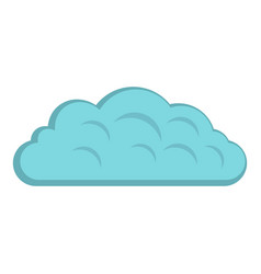 Autumn cloud icon isolated vector
