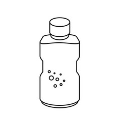 Bottle container icon vector