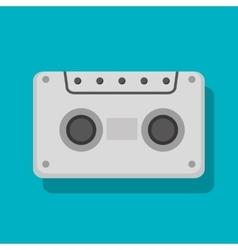 Cassette social media isolated icon design vector