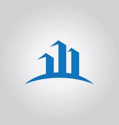 City abstract logo vector
